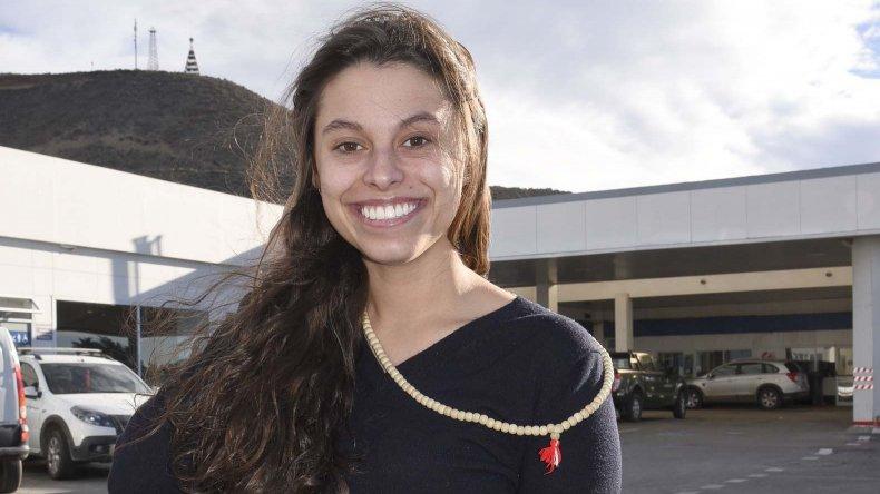 Araceli Lewis fue una de las comodorenses que grabó la primera publicidad del gobierno de Mauricio Macri.
