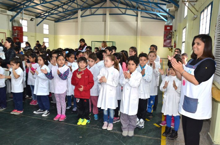 Los actos por el Bicentenario en las escuelas