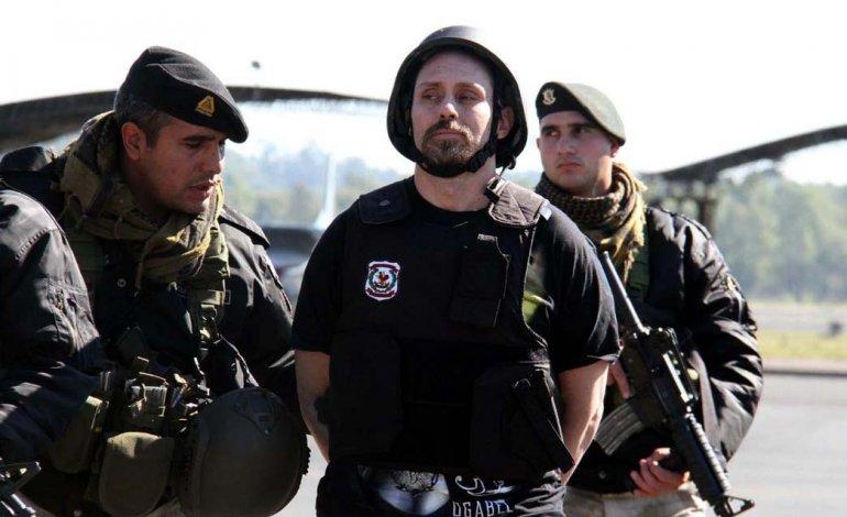 Ibar Pérez Corradi llegó el martes a la Argentina extraditado desde Paraguay.