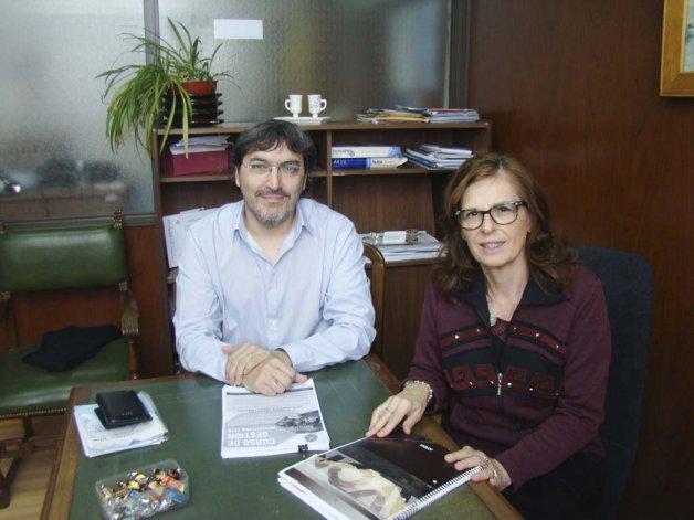 Raúl Muriete y Liliana Balocchi.