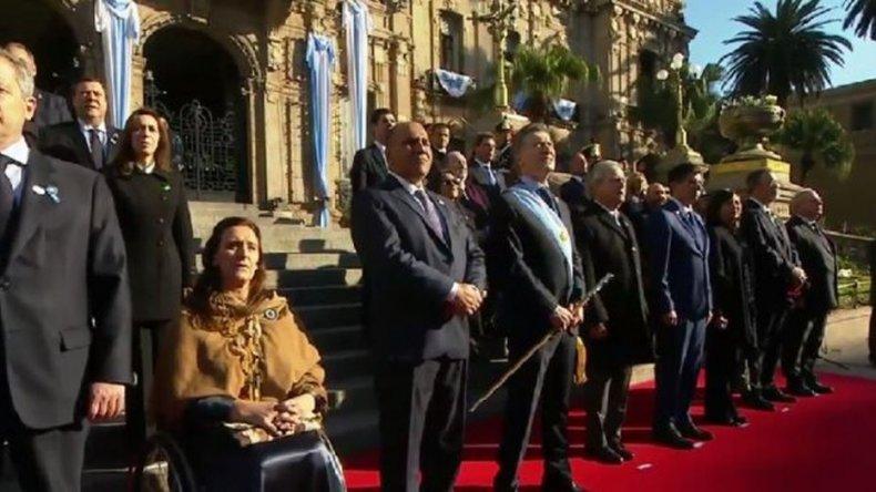 Macri encabeza los actos por el Bicentenario de la Independencia en Tucumán