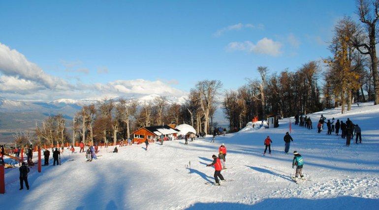 Esquiar en Esquel y El Bolsón abonando  solo un pase