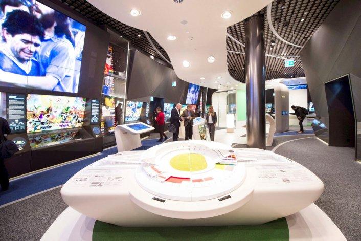 El museo es interactivo e invita a los visitantes a embarcarse en un emocionante viaje.