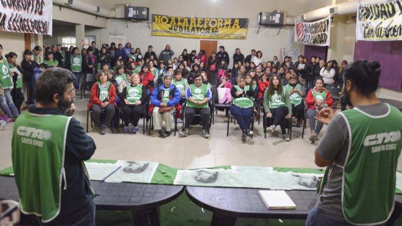 En las asambleas celebradas en las distintas filiales de la provincia