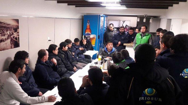 Foto: Prensa Sindicato de Camioneros.