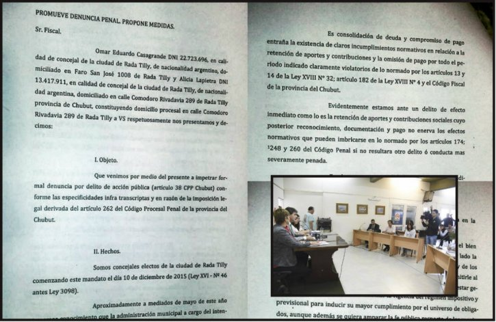 Denunciaron al intendente de Rada Tilly por deuda millonaria al ISSyS