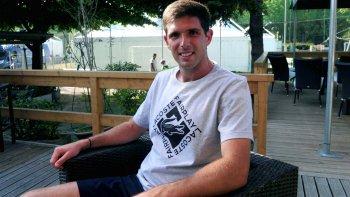 Federico Delbonis se prepara para jugar con Argentina una nueva serie de Copa Davis.