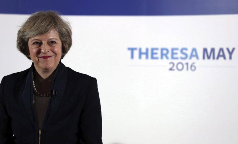 Theresa May reemplaza a David Cameron.