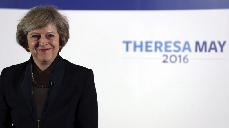 Theresa May reemplaza a David Cameron.