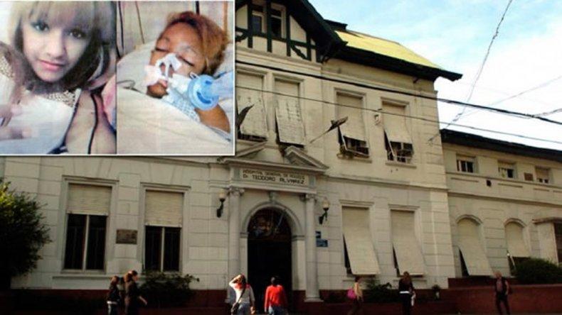 Erika Carrasco está internada en el Hospital Alvarez de la ciudad de Buenos Aires.