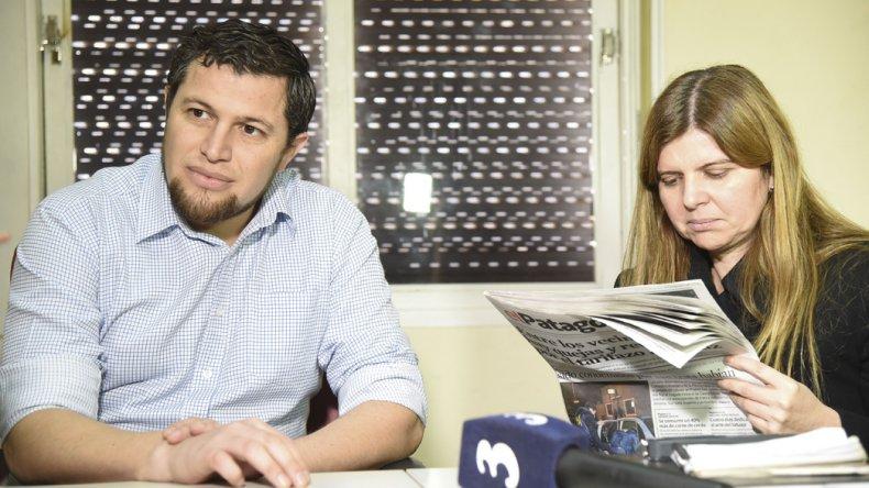 El investigador Pablo Lobos y la fiscal Camila Banfi dieron detalles de la recaptura de Martín Casate Vargas