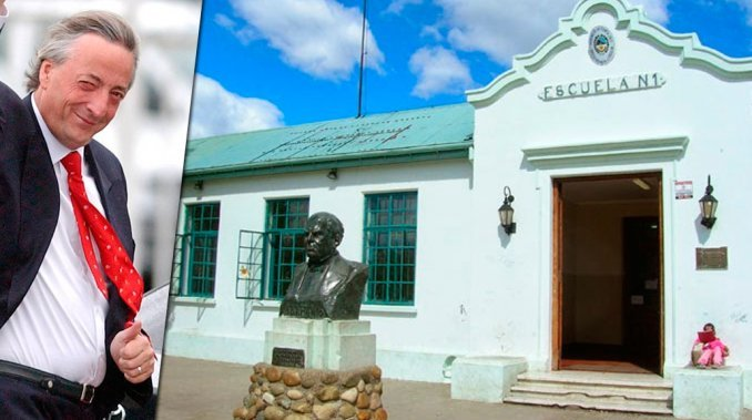Declararon de interés histórico la escuela donde estudió Néstor Kirchner