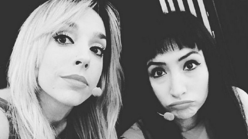 Beso hot entre Tamara Pettinato y Sofía Gala