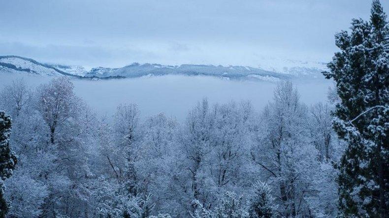 ¡Llegó la nieve a la Patagonia!