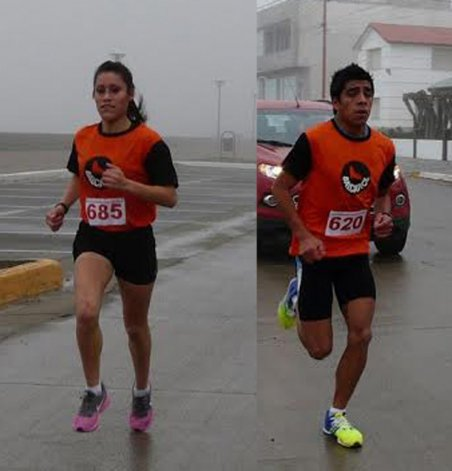 Daiana Llanquín logró una holgada victoria en la última edición. / David Rodríguez impuso su ritmo en los 10K del año pasado.