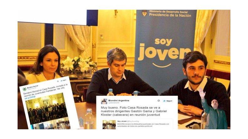 Otra de Piter Robledo: invitó a jóvenes nazis a la Casa Rosada