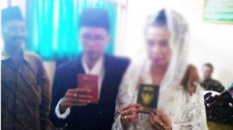 Se casó y descubrió que su marido en realidad era una mujer