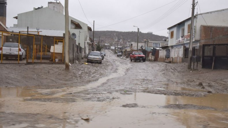 Las ocho familias evacuadas volverían a sus casas el fin de semana