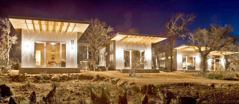 Cada cabaña tiene cerca de 40 metros cuadrados