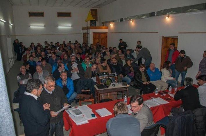 La reunión del Comité de Cuenca que se desarrolló en Gobernador Costa.