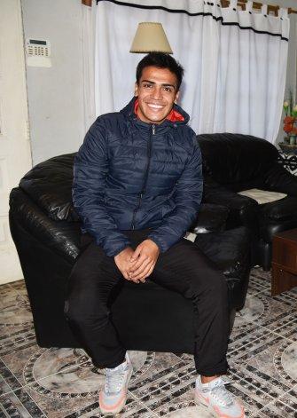 Jesús Molina le sonríe a su presente deportivo y solo piensa en Florentino Ameghino.