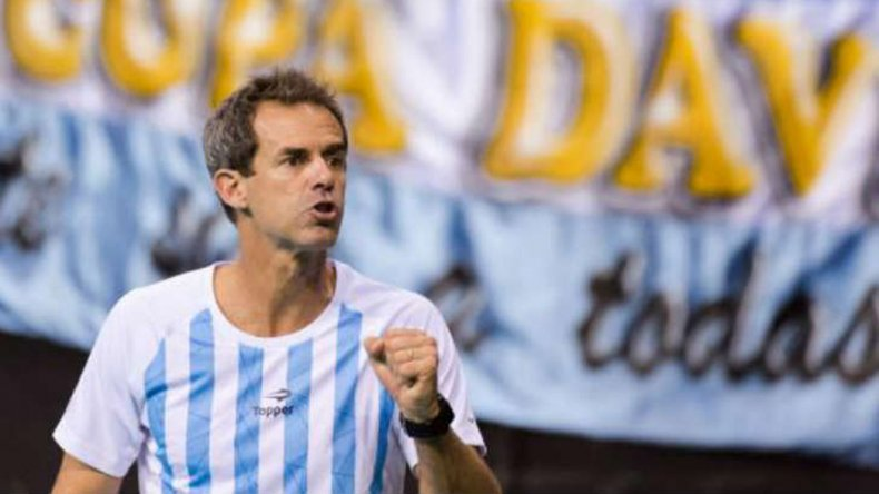 Daniel Orsanic destacó el gran trabajo de todo el equipo argentino en la Copa Davis.