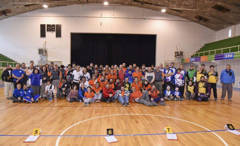 Arqueros de toda la región compitieron en el Complejo Huergo de Comodoro Rivadavia.