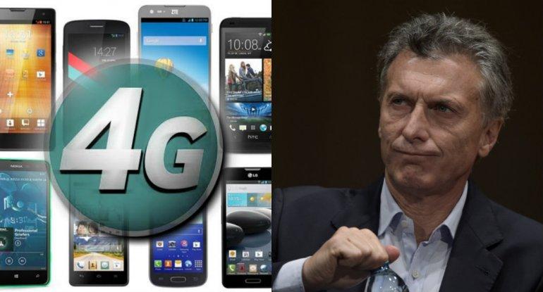 Macri anunció que se podrá acceder a un celular 4G por dos mil pesos