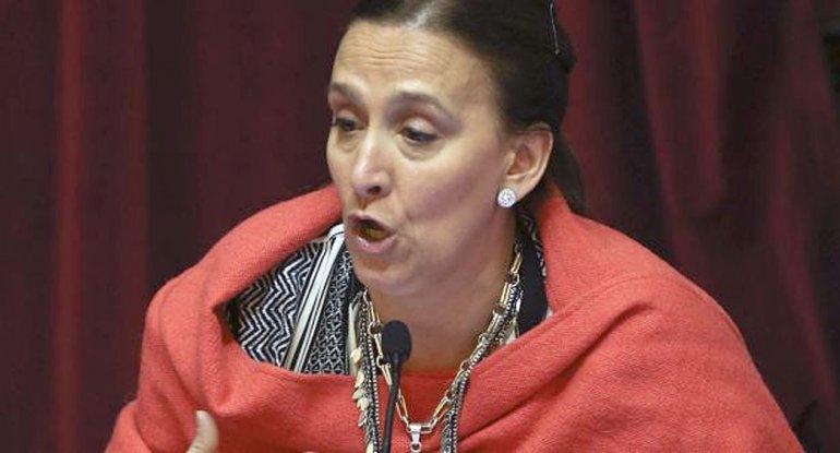 La vicepresidente Gabriela Michetti salió a justificar por qué no habló del robo.