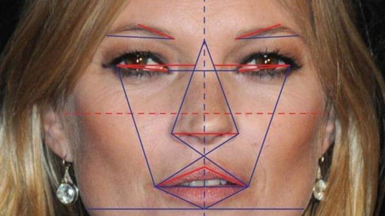 Las proporciones de la modelo Kate Moss arrojaron un 91.06%.
