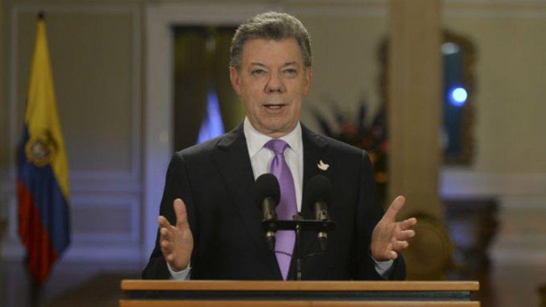 Un eufórico Santos calificó el plebiscito como un momento histórico.