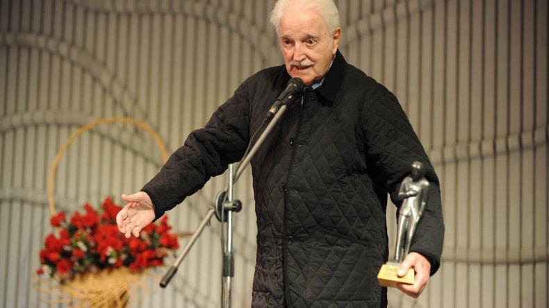El dramaturgo Carlos Gorostiza