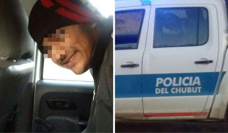 La foto de la detención se publico en redes sociales por los propios vecinos.