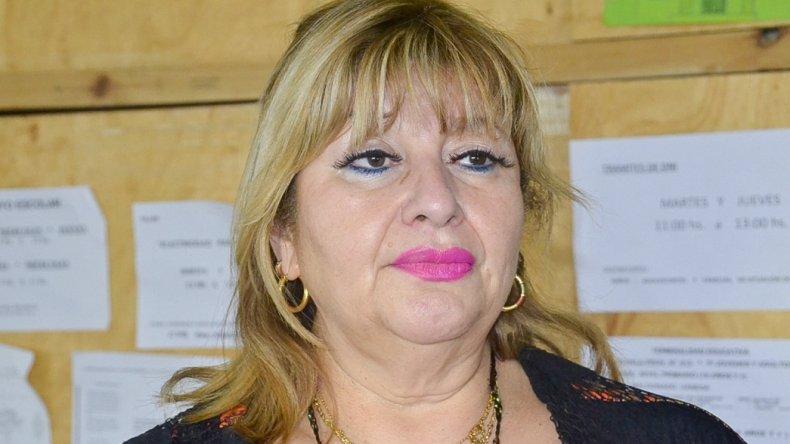 La diputada Ana Llanos participó ayer