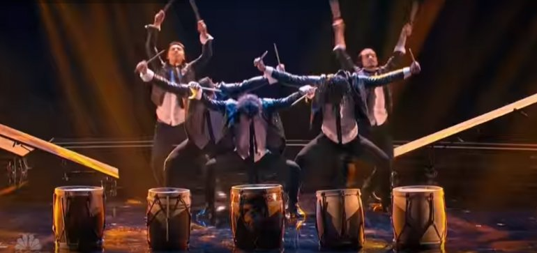 Malevo volvió a deslumbrar en Americas Got Talent