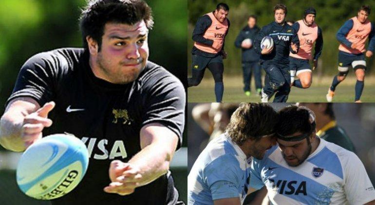 Cumpa Herrera está en la lista para el Rugby Championship