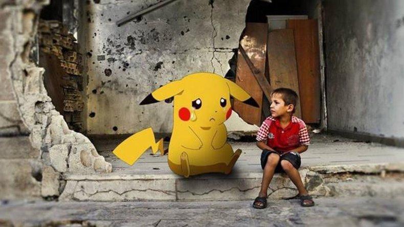 Los chicos de Siria muestran que hay cosas más importantes que Pokémon