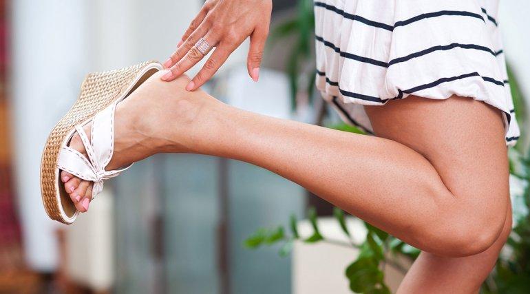 Cuidar los pies, la parte  del cuerpo más olvidada