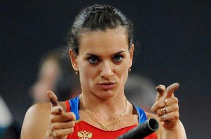 Yelena Isinbayeva reaccionó con todo luego de la decisión que tomó el Tribunal Arbitral del Deporte (TAS).