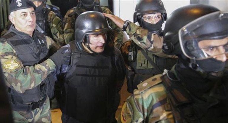 Ratifican que López tiró los bolsos dentro del convento.