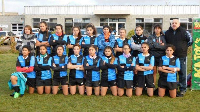 El rugby femenino se concentra en Calafate RC