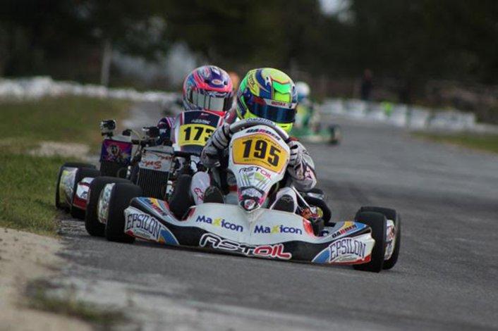 El radatilense Lorenzo Astiz demostró en la clasificación que está para ser protagonista en Buenos Aires.