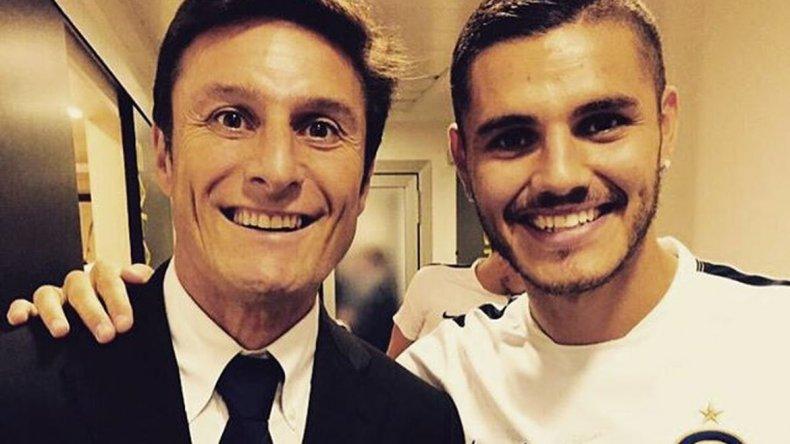 Zanetti le llamó la atención a Icardi