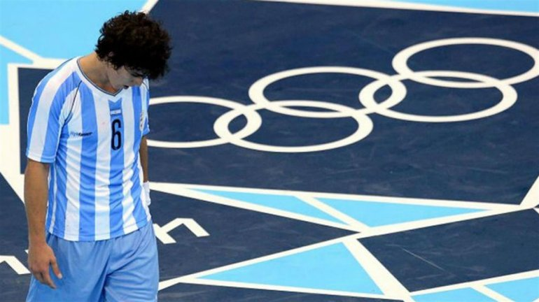 Diego Simonet será la gran ausencia que tendrán Los Gladiadores en los Juegos Olímpicos.