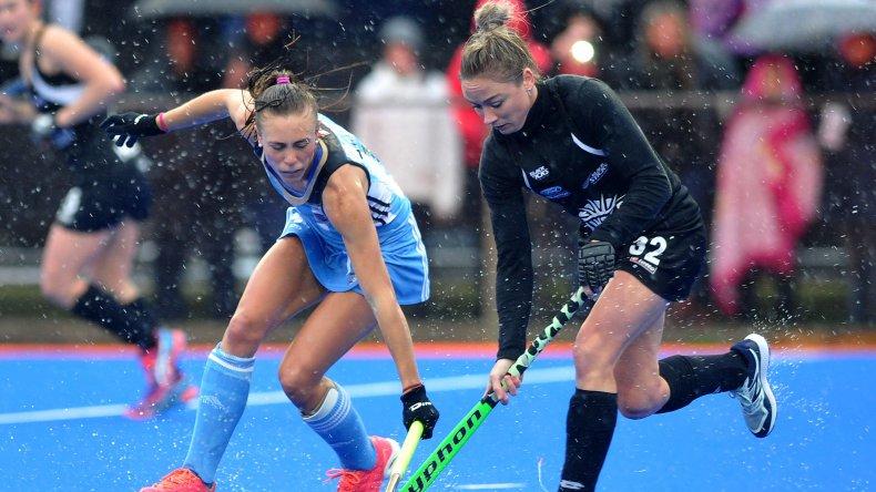 Las Leonas jugaron ayer su tercer partido de preparación para los Juegos Olímpicos ante Nueva Zelanda.