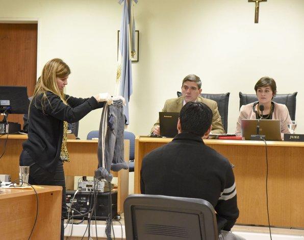 En la primera jornada del juicio dos testigos identificaron a Nahuel Uranga como el asesino del albañil.