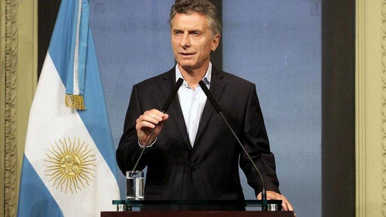 Macri anuncia un Plan Nacional contra la violencia de género
