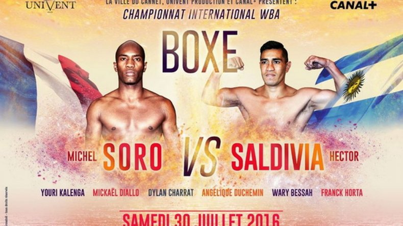 Conocé a Michel Soro, el rival que tendrá Saldivia este sábado
