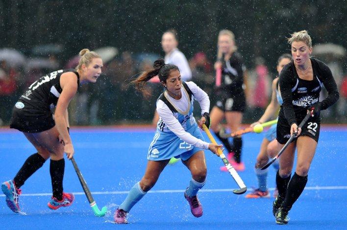 La selección argentina de hóckey sobre césped viene de caer 5-2 con Nueva Zelanda.