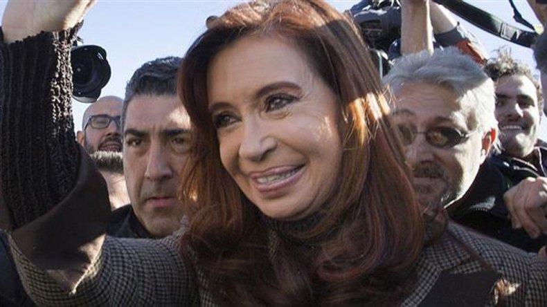 Cristina sostuvo que existe una feroz persecución judicial en su contra.